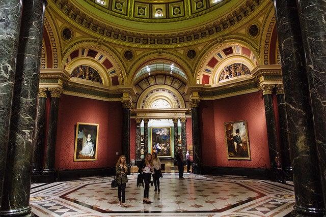 Interior de la National Gallery