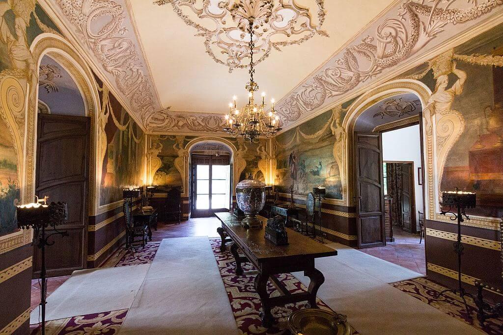 Interior del palacio de Viana de córdoba
