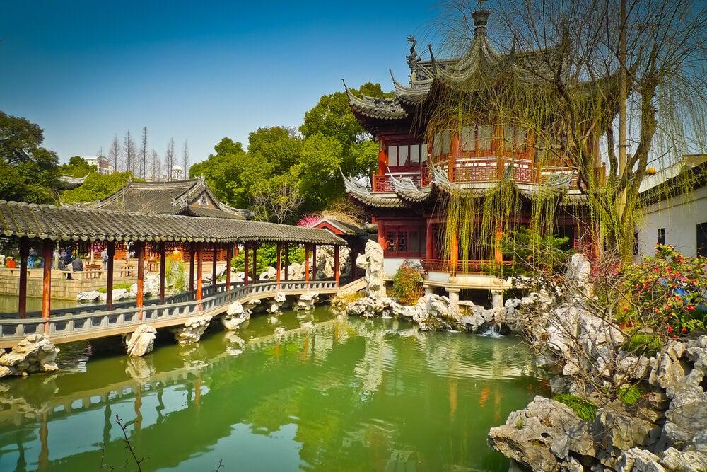 Jardín de Yuyuan en Shangai