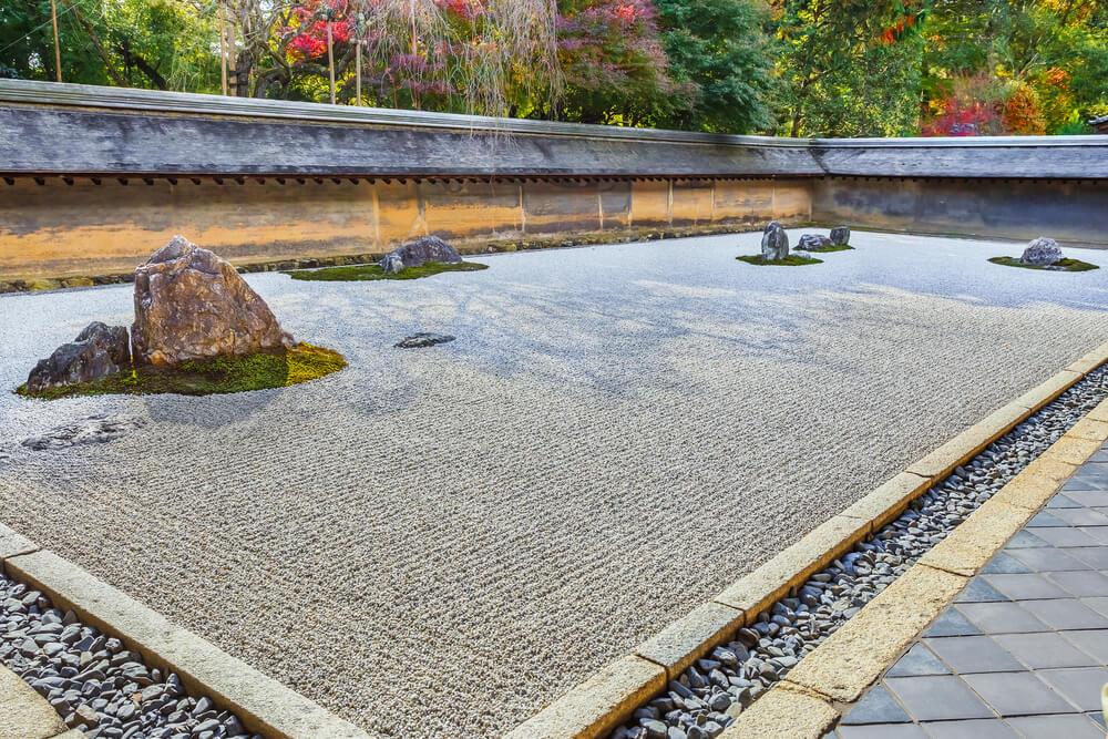 Jardín zen del templo Ryoan-ji