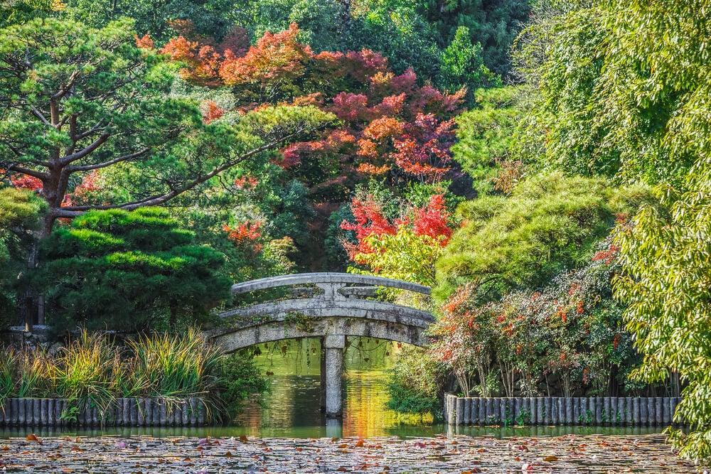 Jardines del templo de Ryoan-ji