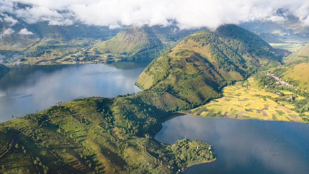 Lago Toba, fruto de una de las grandes catástrofes del planeta