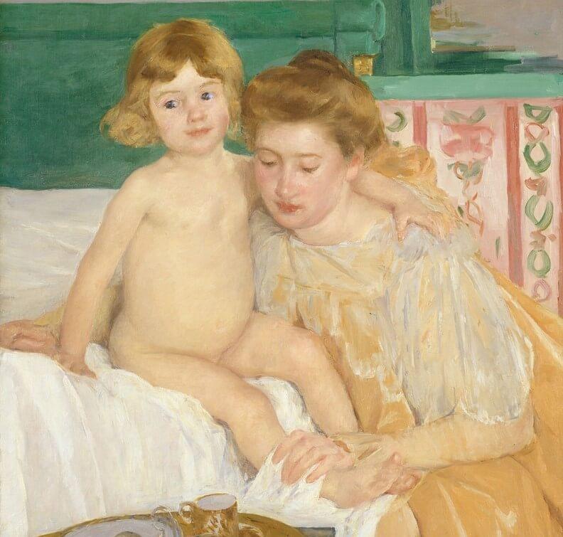 Cuadro 'Madre e hija'