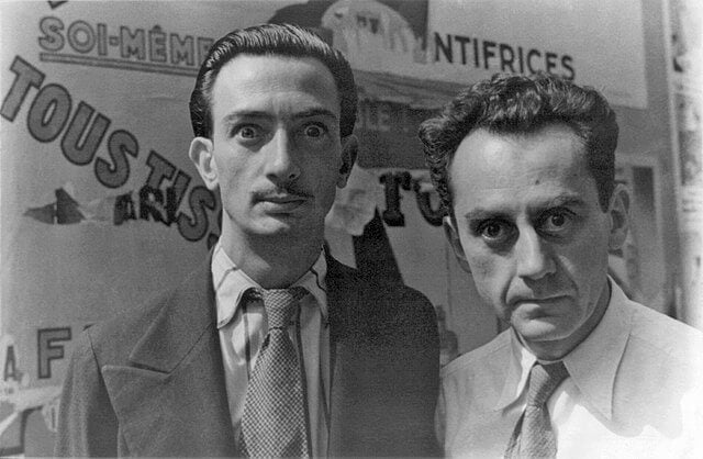 Man Ray y Dalí