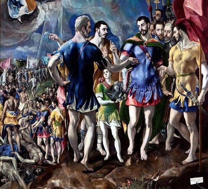'El Martirio de San Mauricio' de El Greco