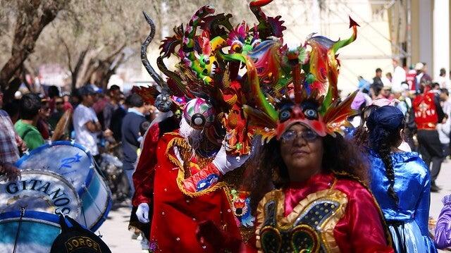 Desfile de la Fiesta de La Tirana