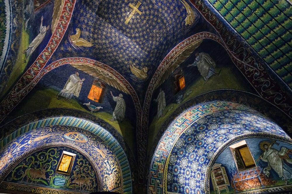 Mausoleo de Gala Placidia en Rávena
