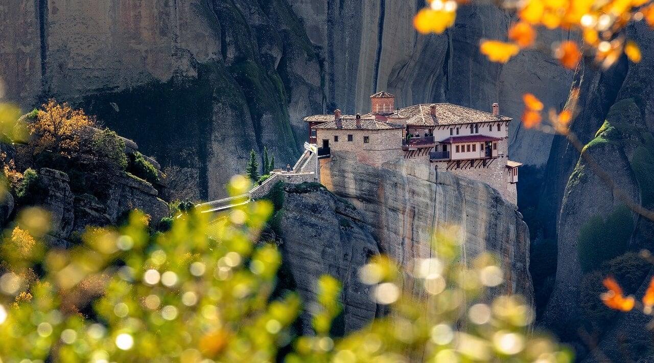 Vista de uno de los monasterios