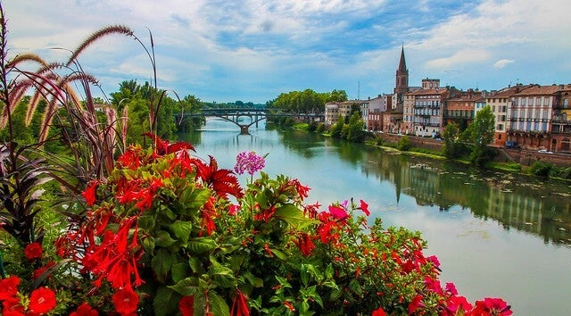 Río Tarn en Montauban