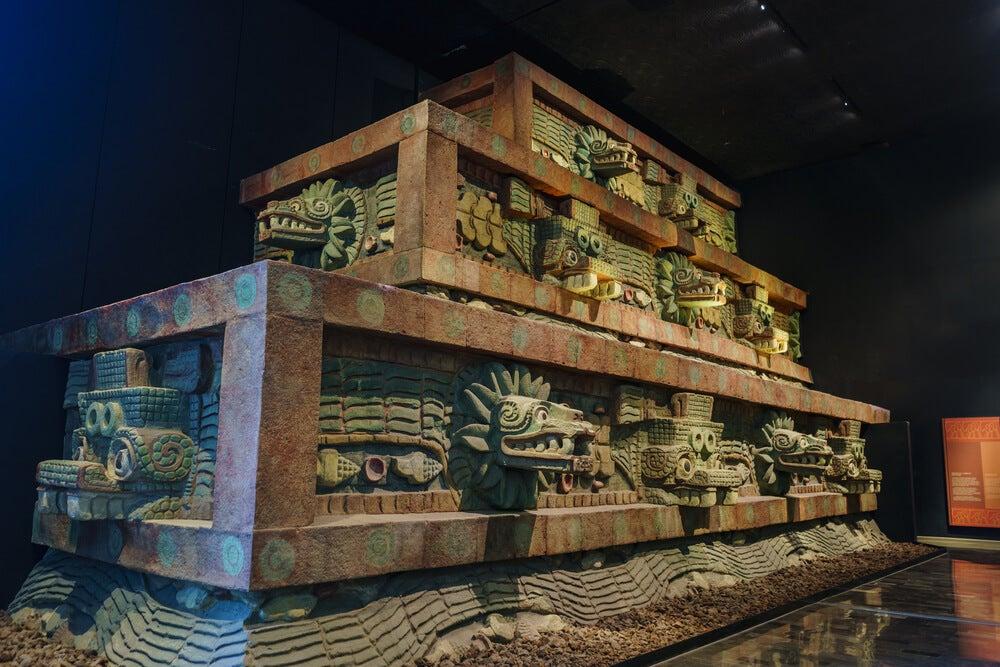 Exposición en el Museo Nacional de Antropología de México
