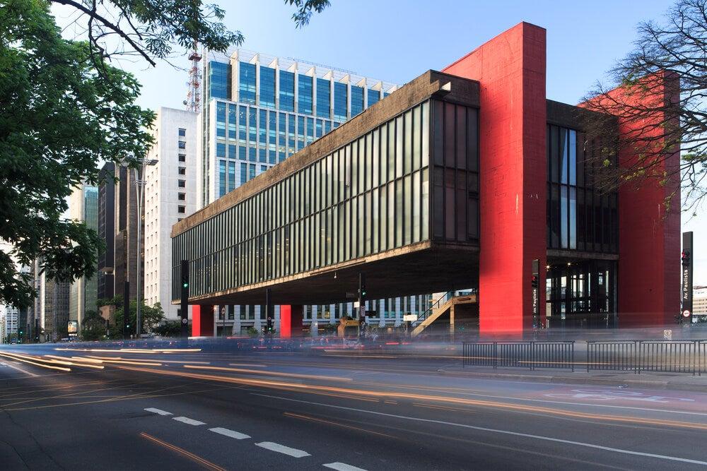 Museo de Arte de Sao Paulo, uno de los grandes museos de América Latina