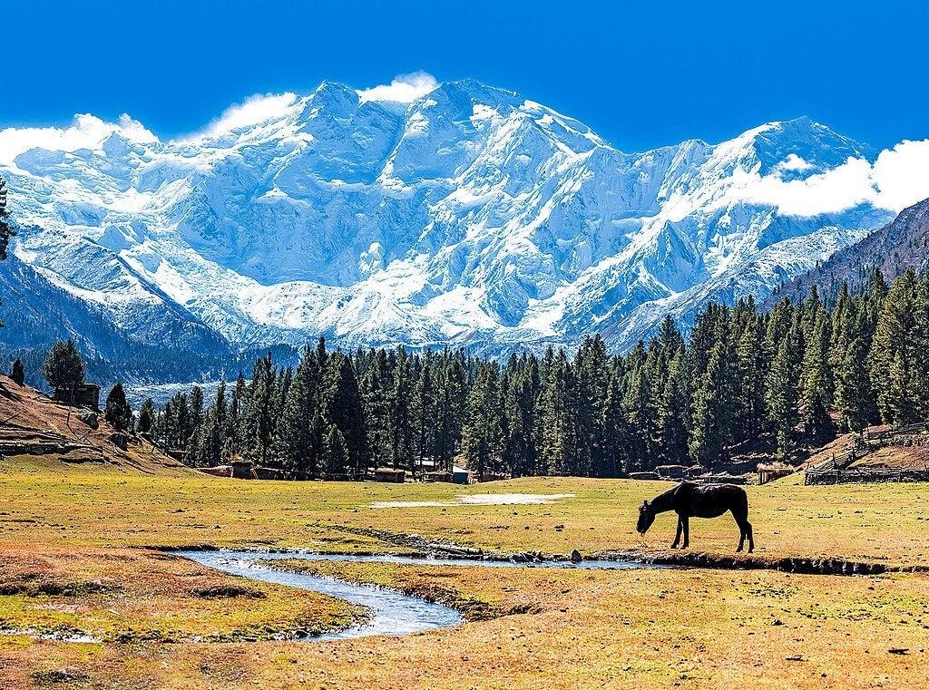 Nanga Parbat, una de las montañas más imponentes