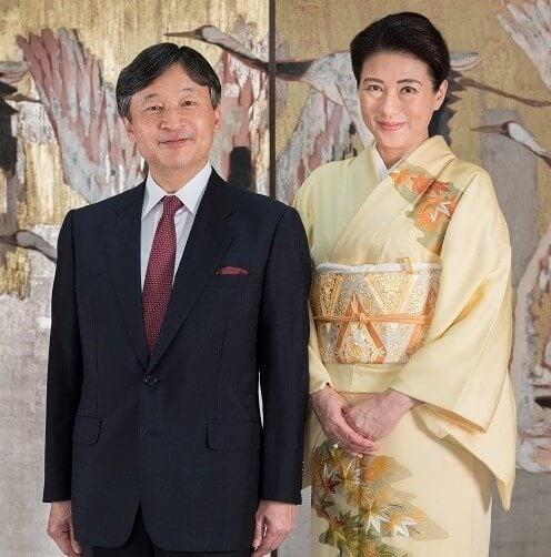 Emperador Naruhito y Masako antes de la coronación