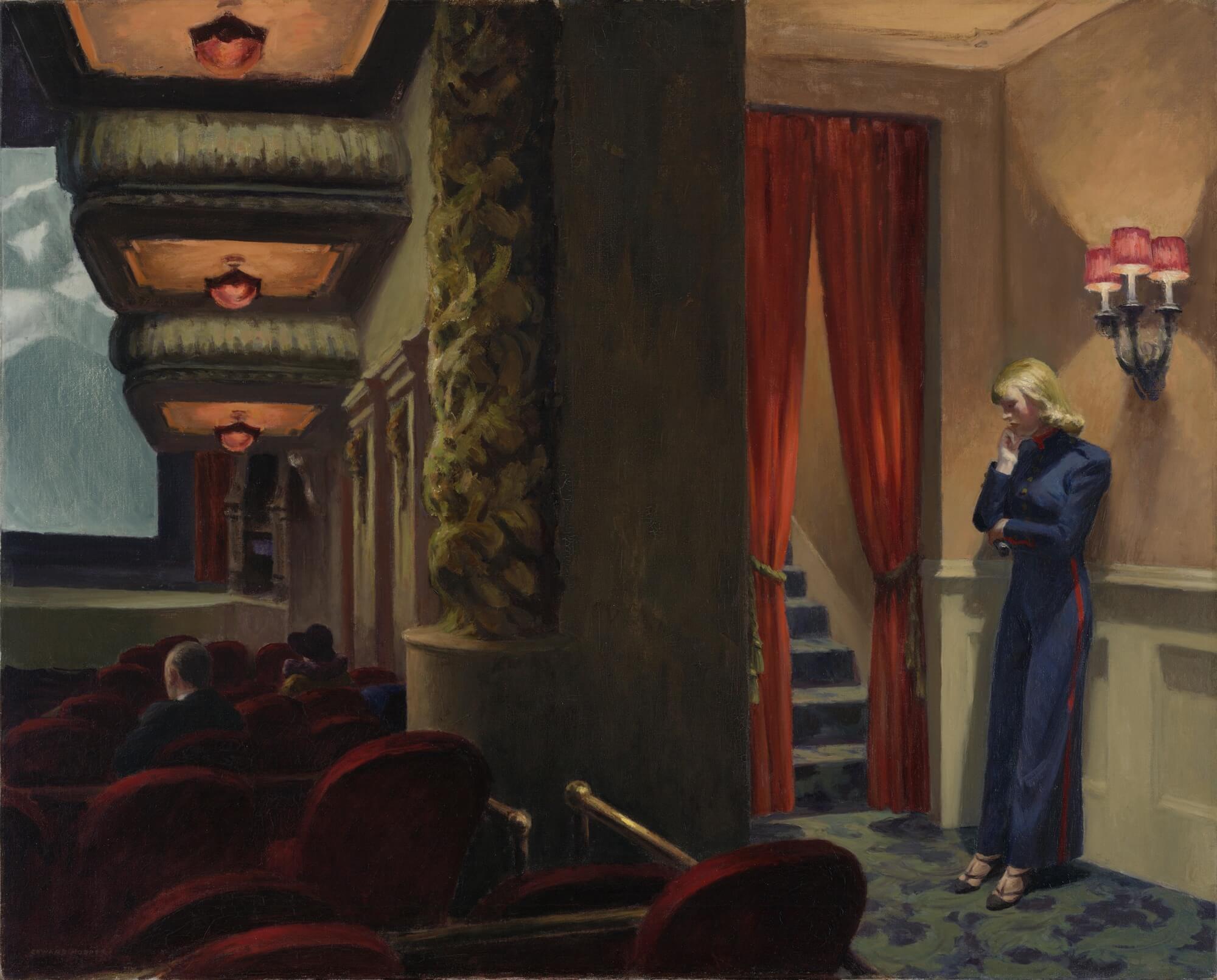 'New York movie' de Hopper