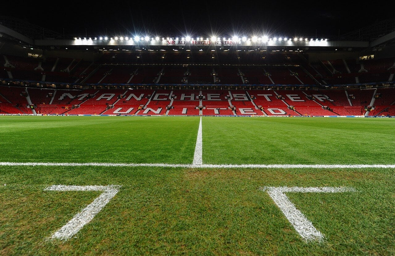 Estadio Old Trafford en Manchester