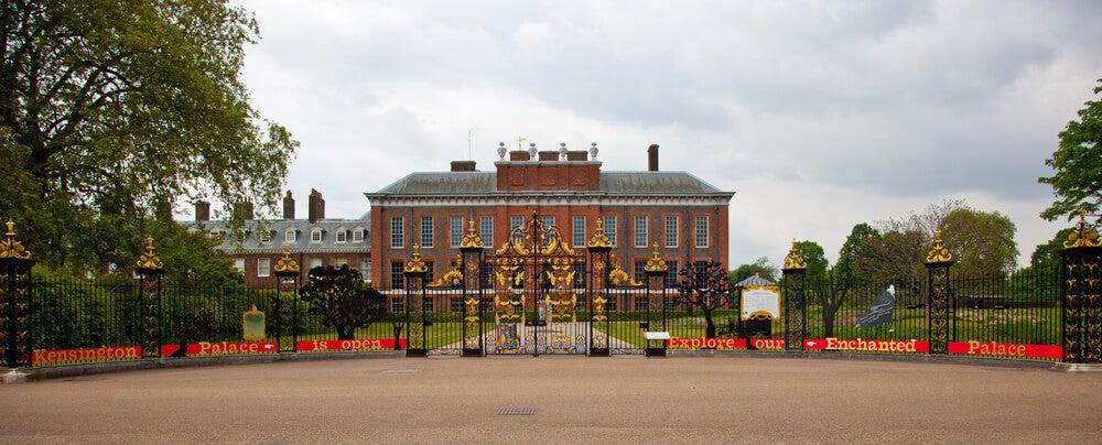 Exterior del palacio de Kensington