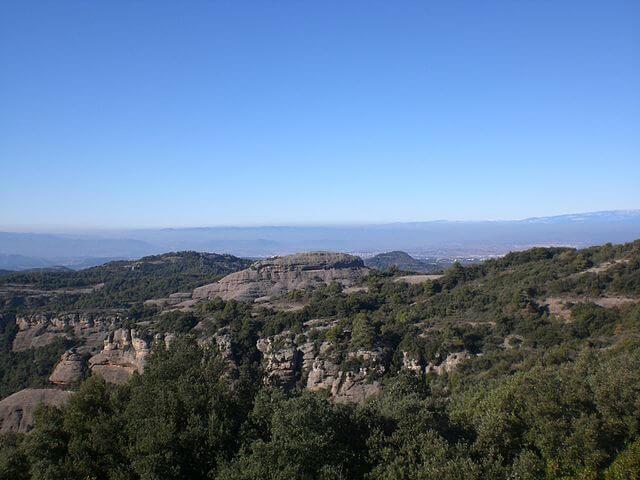 Vista del Parque Natural de Sant Llorenç