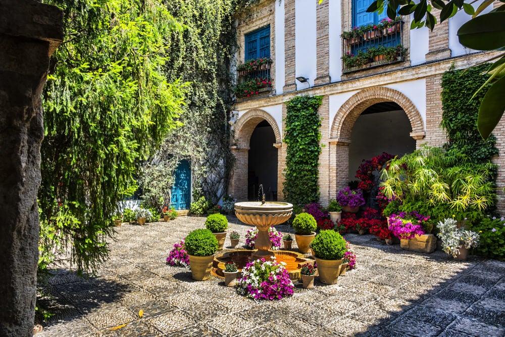 Patio del palacio de Viana de Córdoba