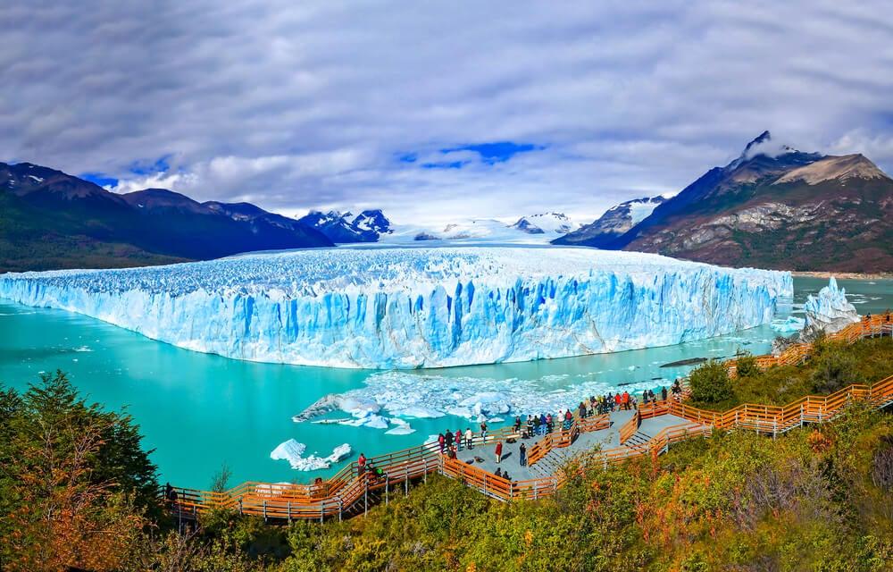 Vista del glaciar Perito Moreno