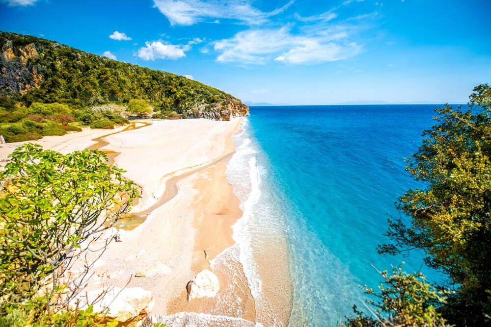 Playa Gjipe en Albania