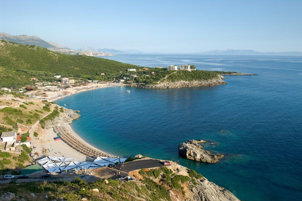 Playa de Jale en Albania