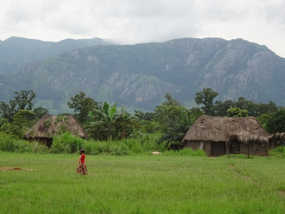 Poblado tradicional en Nigeria