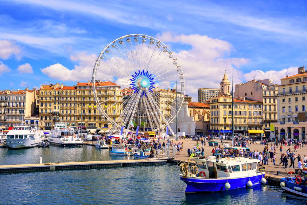 Vieux Port de Marsella