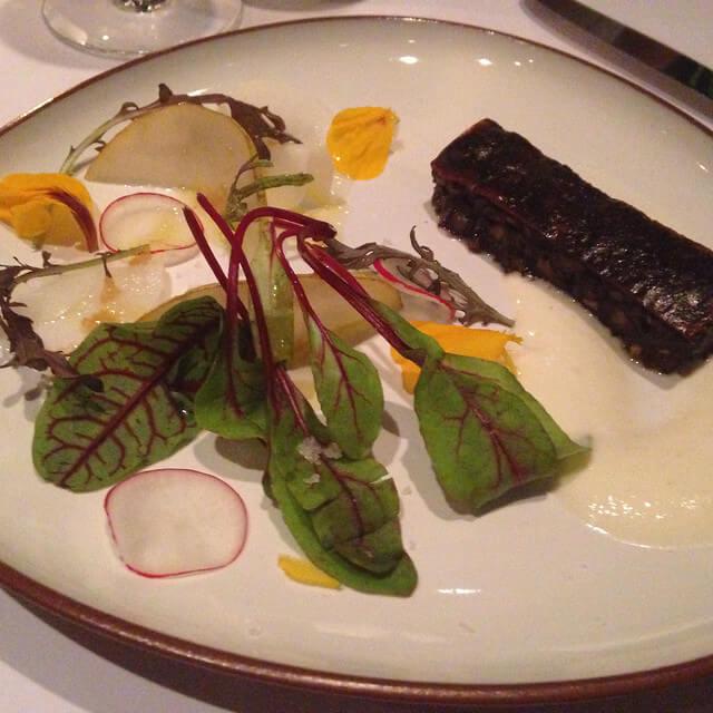 Plato de Tegui, uno de los mejores restaurantes de América Latina