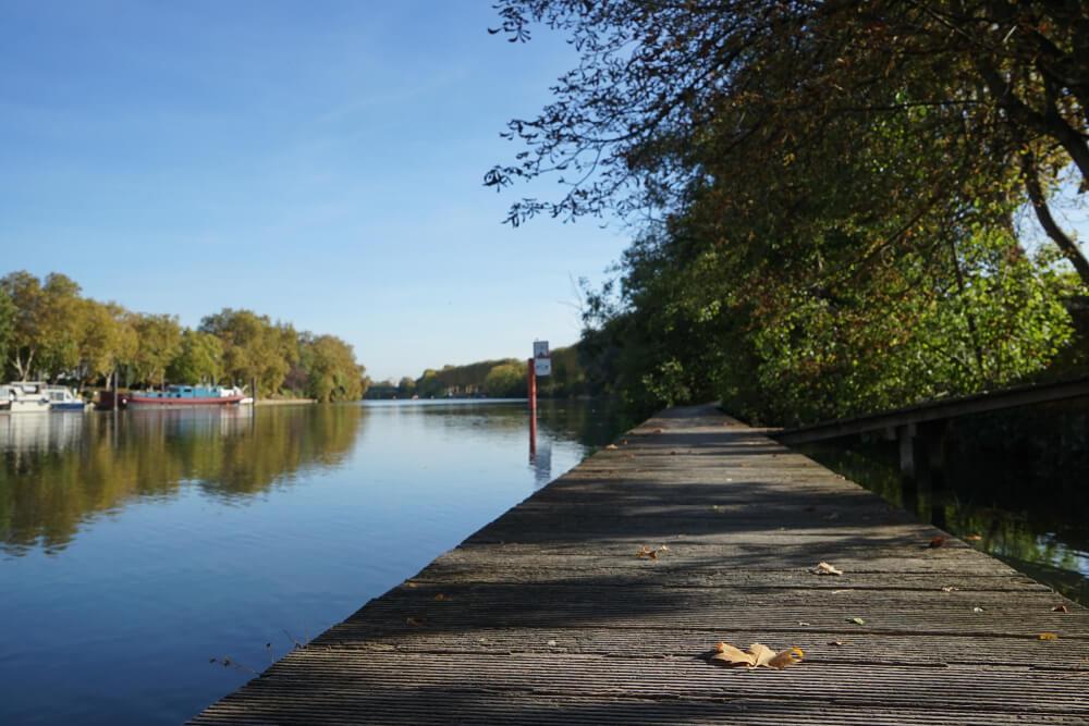 Vistas del río Marne