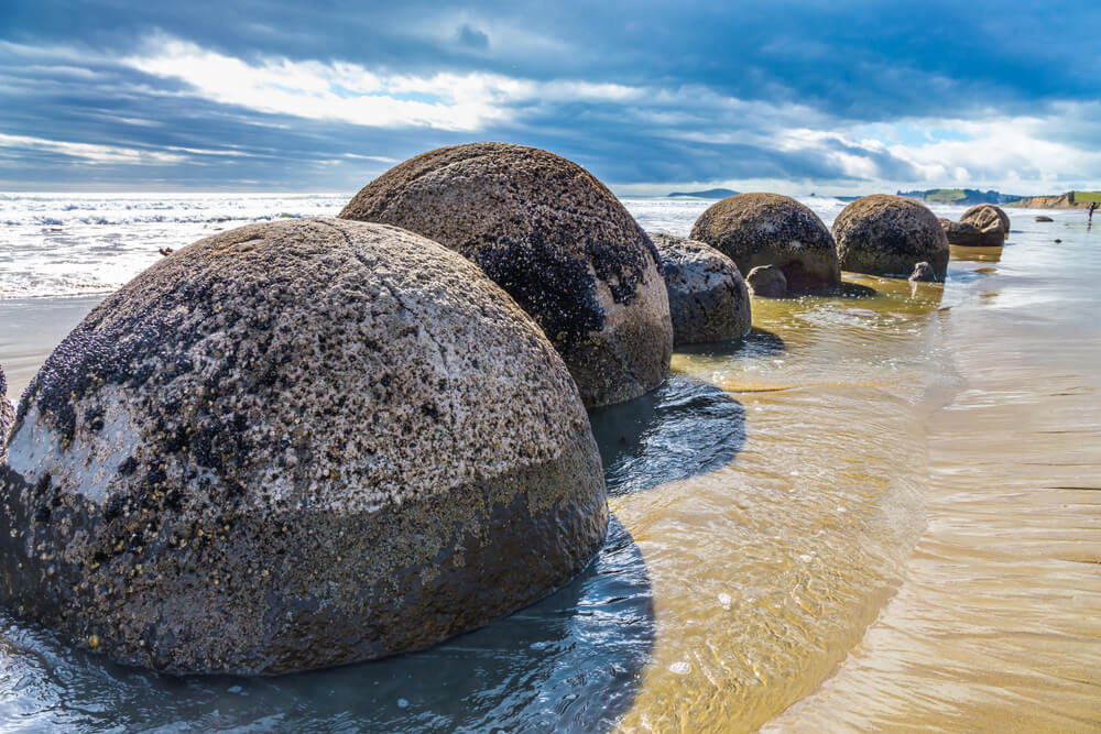 Rocas de Moeraki