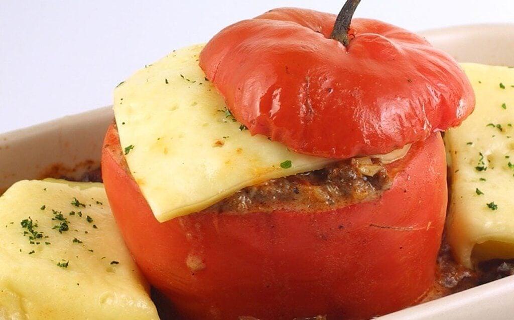 Rocoto relleno, típico de la gastronomía arequipeña