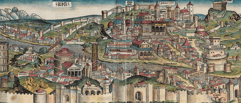Roma en la Crónica de Núremberg
