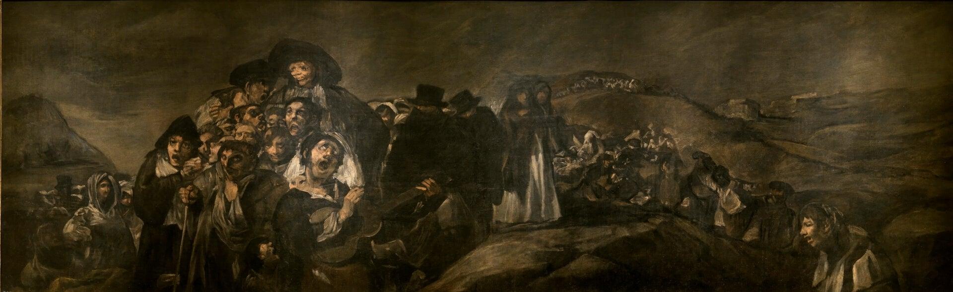 'La romería de San Isidro' de Goya