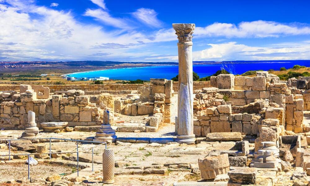 Ruinas de Kourión en Chipre