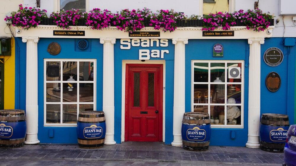 Sean's Bar en Irlanda