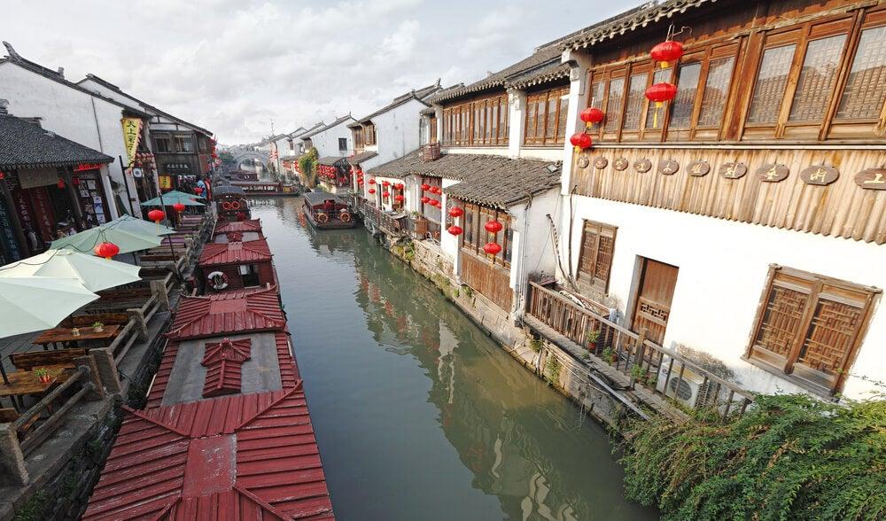 Shan Tang en Suzhou, una de las calles más singulares