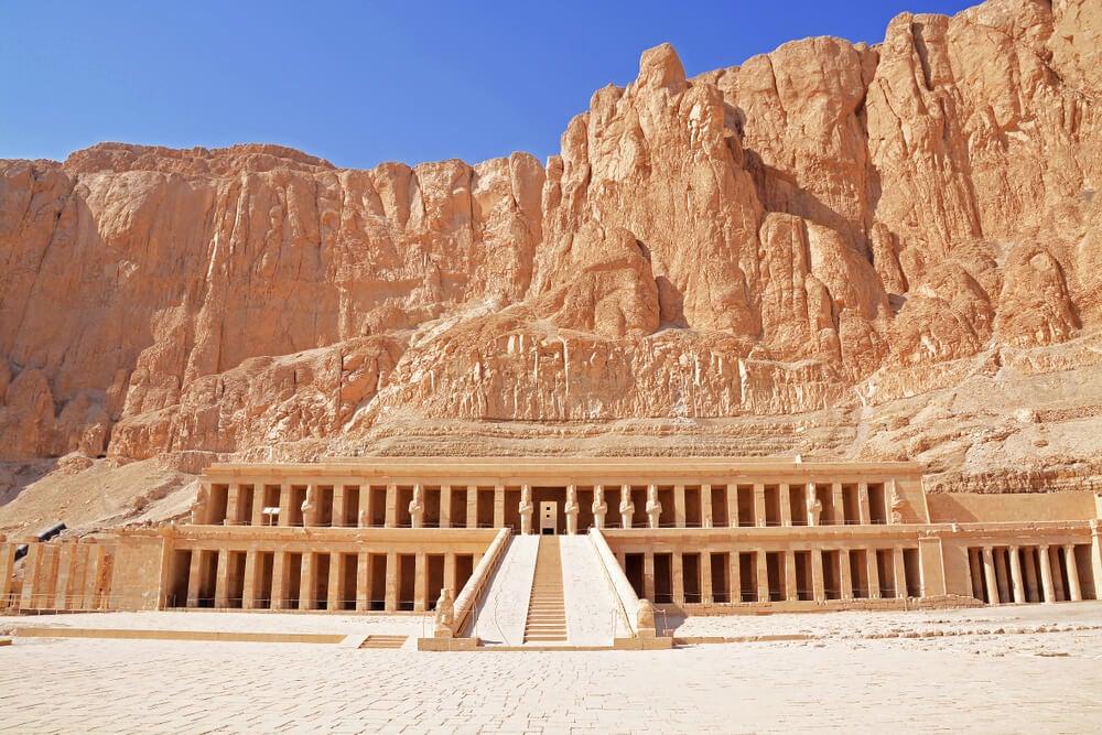Templo Deir el-Bahari en Egipto