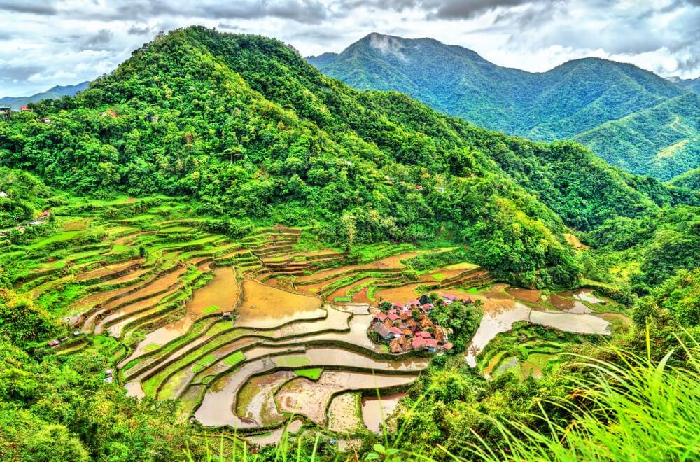 Las Terrazas De Arroz En La Isla De Luzón Filipinas Mi Viaje