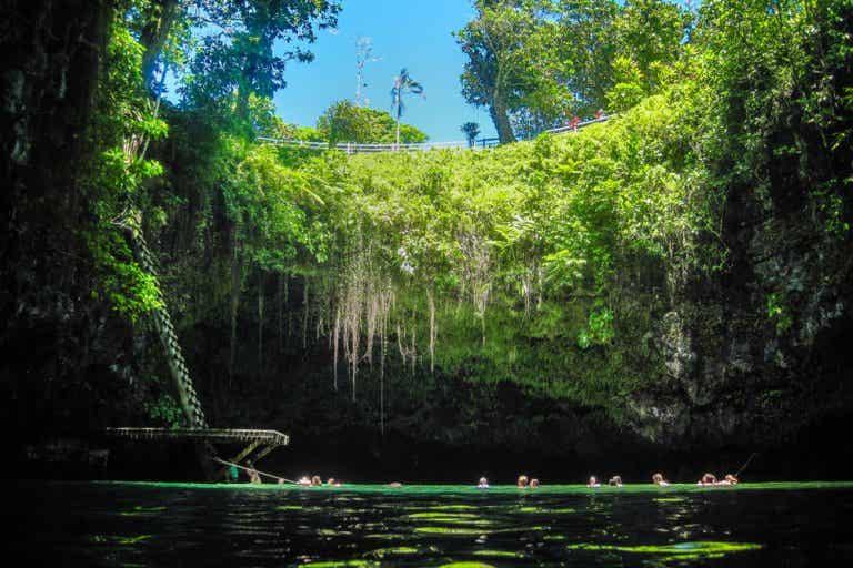 Nadar en To Sua, una experiencia inolvidable