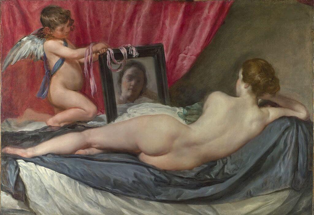 """Venus del espajo"" de Velázquez"