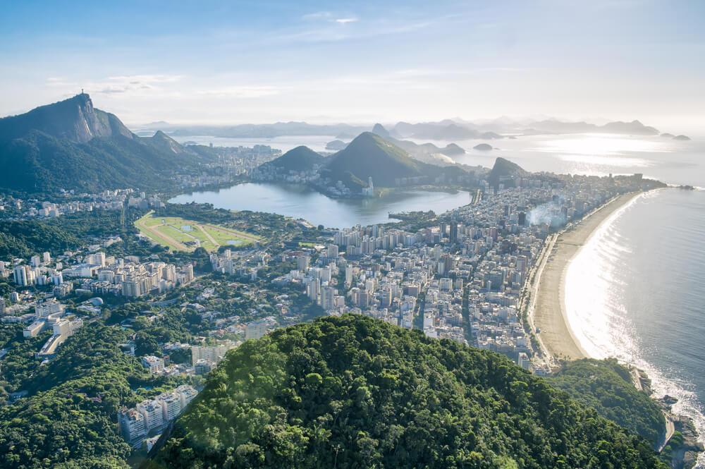 Vista desde el Morro Dois Irmaos de Río