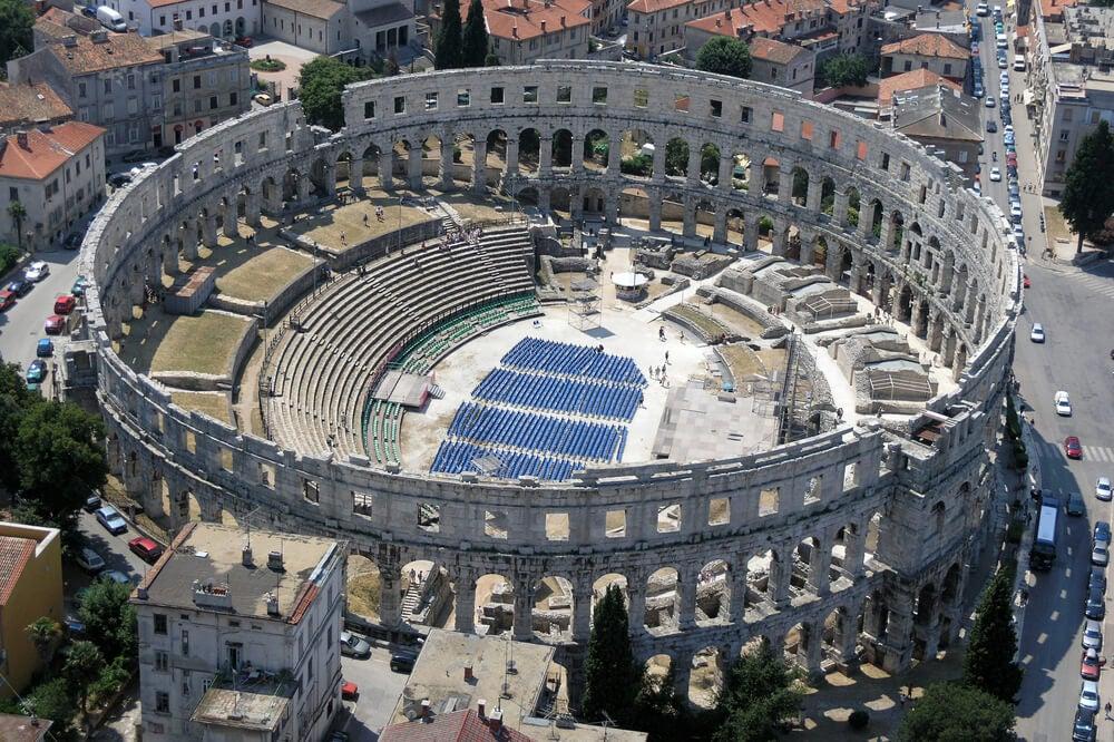 Una ruta por las ruinas romanas de Croacia