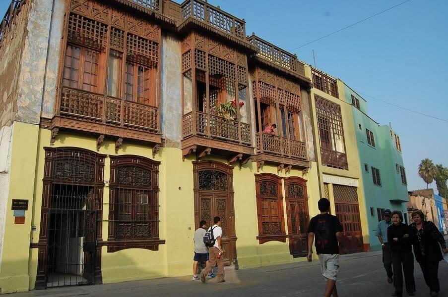 Arquitectura en el barrio de Barranco