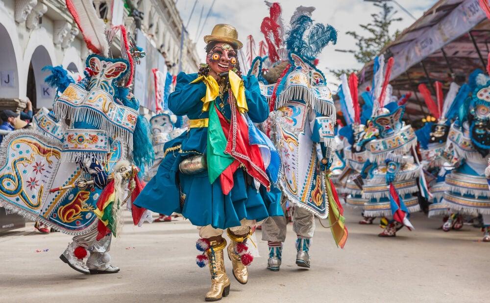 Desfile del carnaval de Oruro