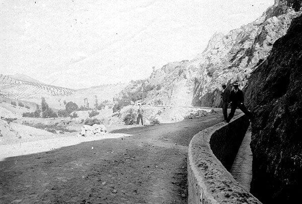 Carretera de Las Angosturas en el siglo XIX