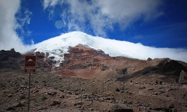 Chimborazo en Ecuador
