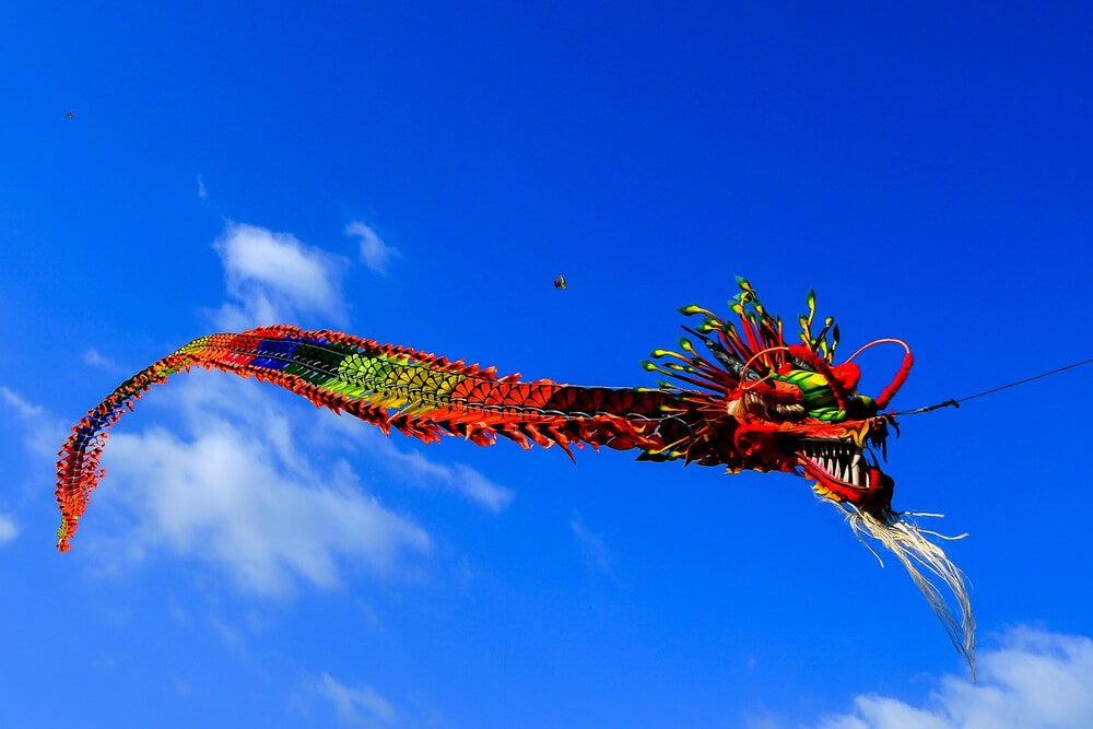 Cometa dragón