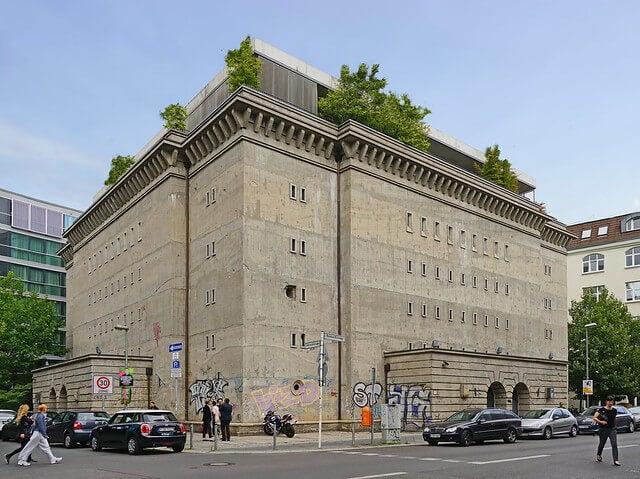 Fachada de Sammlung Boros, local de arte moderno y contemporáneo de Berlín