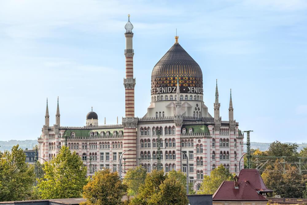 Yenidze: uno de los edificios más singulares de Dresde