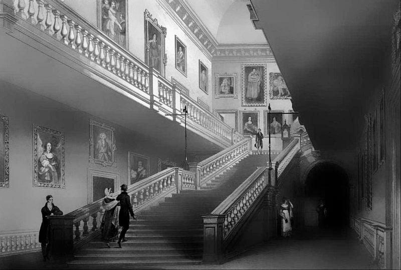 Escalera en 1822